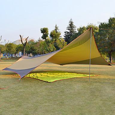 DesertFox® Lätält Utomhus Vattentät Solskyddskräm Regnsäker Singellager Stång Tält 2000-3000 mm för Camping Fiske Klättring oxford 550*560 cm