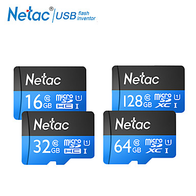 cheap Memory Cards-Netac TF Card 32GB Micro SD Card SDXC C10 Mini Memory Card 64GB 16GB SDHC SDXC UHS-I U1 Class 10 80MB/s Camera
