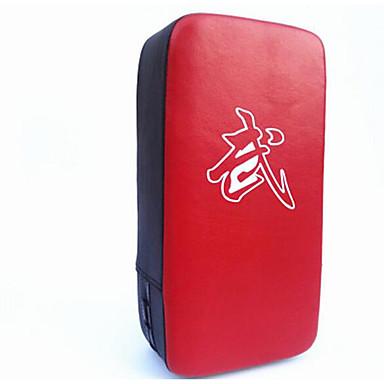 preiswerte Boxsack & Schlagpolster-Zielscheiben für Kampfsportarten Für Taekwondo Formschluss PU-Leder Rote
