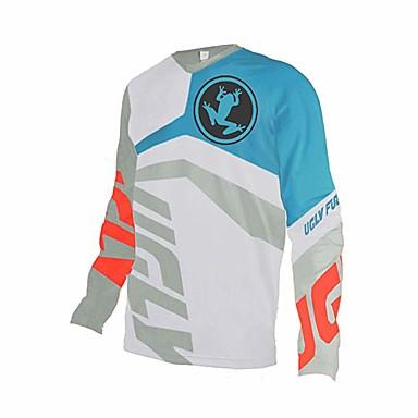 billige Automotiv-motorsykkel jersey kule herre downhill jersey motocross jersey raseri mtb sykling toppsyklus langermet terrengsykkelslitasje