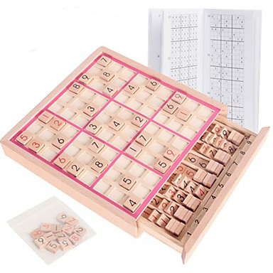preiswerte Labyrinth & Puzzles-Bretsspiele Schachspiel Sudoku Puzzles Hölzern Kinder Erwachsene Unisex Jungen Mädchen Spielzeuge Geschenk