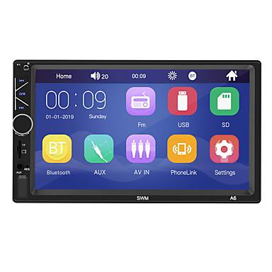 levne Auto Elektronika-swm a6 7 palců 2 okna windows auto mp5 přehrávač auto multimediální přehrávač dotykový displej vestavěný bluetooth / sd / usb podpora rca / hdmi / vga mpeg / mpg / wmv mp3 / wma pro univerzální