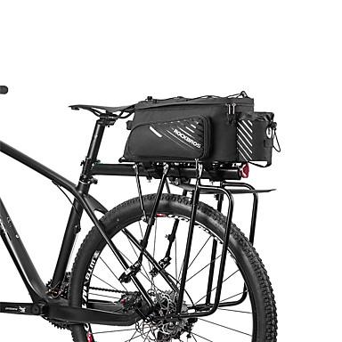 preiswerte Radtaschen-ROCKBROS 12 L Fahrrad Kofferraum Taschen Multifunktions Tragbar Radfahren Fahrradtasche Terylen Tasche für das Rad Fahrradtasche Outdoor Übungen