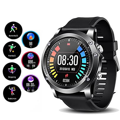 levne Pánské-Pro páry Inteligentní hodinky Digitální Stylové Silikon Černá / Červená / Orange 30 m GPS Monitor pulsu Bluetooth Digitální Módní - Černá Černá / Stříbrná Oranžová Jeden rok Životnost baterie