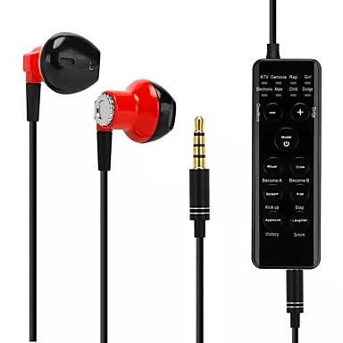preiswerte Digitale Diktiergeräte-Voice Changer HeadsetsErhalten Sie Kopfhörer für Douyin Living / Karaoke / Kinder / Telefon / iPad / Computer / Anker / Cam Girl