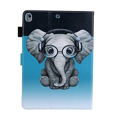 Case Kompatibilitás Apple iPad Air / iPad 4/3/2 / iPad (2018) Kártyatartó / Állvánnyal / Minta Héjtok Állat PU bőr