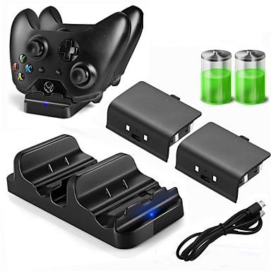 preiswerte Xbox One Zubehör-dobe ladegerät kits / akkus für xbox one neues design ladegerät kits / akkus ppabs / metall 1 stück einheit