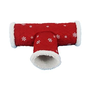 preiswerte Bekleidung & Accessoires für Katzen-Interaktives Betten Pelzige Kleintiere Haustiere Spielzeuge 1pc haustierfreundlich Polyester Plüsch Geschenk