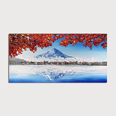 preiswerte Ohne Innenrahmen-Hang-Ölgemälde Handgemalte - Landschaft Modern Ohne Innenrahmen