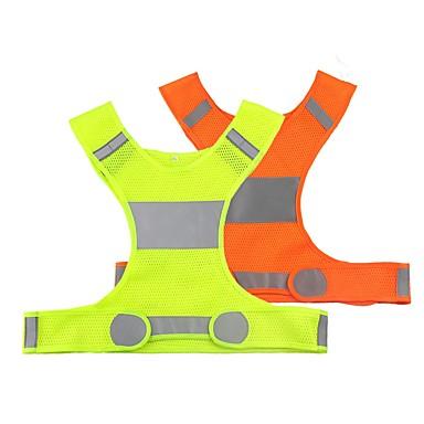 preiswerte Reflektierende Kleidung und Accessoires-Reflektierende Weste 1 Stück Nachtsicht / Einfach zu tragen / Langlebig für Radsport / Laufen Silber