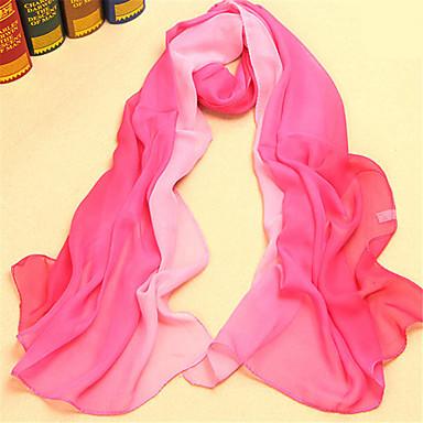 levne Novinky-Dámské Aktivní / Základní / Cute Style Obdélníkový šátek - Květinový