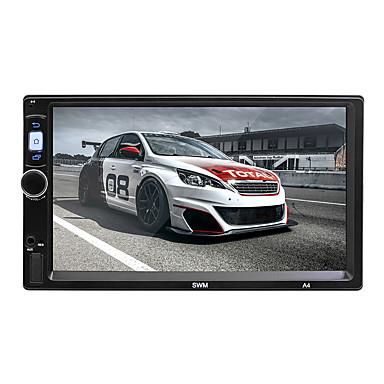 levne Auto Elektronika-swm a4 7 palce 2 din android 8.1 auto mp5 přehrávač auto mulitimedia přehrávač dotyková obrazovka / gps / vestavěná podpora Bluetooth rca / hdmi / fm2 mpeg / mpg / wmv mp3 / wma / wav jpeg pro