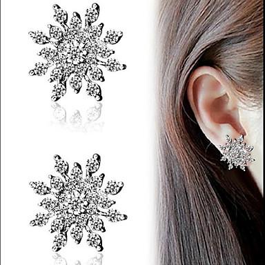 levne Dámské šperky-Dámské Peckové náušnice Klasika Mini Maska Náušnice Šperky Zlatá / Stříbrná Pro Vánoce Svatební Párty Halloween Karneval 2pcs