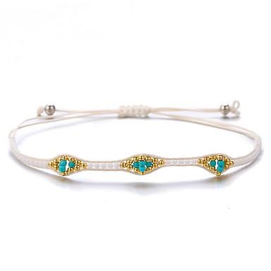 levne Dámské šperky-Dámské Přátelský náramek Klasika Pletený Sladký Módní Nylon Náramek šperky Bílá Pro Dar Denní Práce