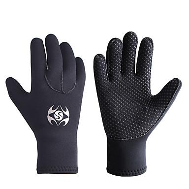 preiswerte Fishing Gloves-Handschuhe fürs Angeln Vollfinger Angeln Allgemein Wasserdicht Windundurchlässig Atmungsaktiv Neopren Herbst Winter Herrn Damen