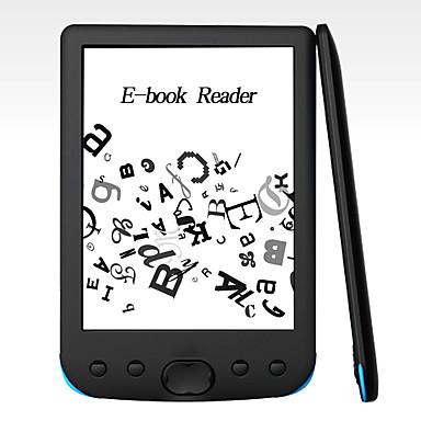 preiswerte Tragbare Audio/Video player-litbest 6 E-Ink-E-Book-Reader Auflösungsanzeige 300 dpi elektronischer E-Book-Reader 800x600