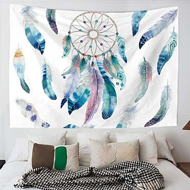 cheap Wall Tapestries-Garden Theme / Bohemian Theme Wall Decor Polyester / 100% Polyester Bohemia / Modern Wall Art, Wall Tapestries Decoration