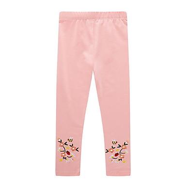 preiswerte Hosen & Leggings für Mädchen-Kinder Mädchen Druck Hose Rosa