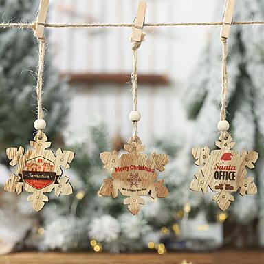 povoljno Svadbeni pir-Dekoracija božićnih drva Drvo 2pcs Božić