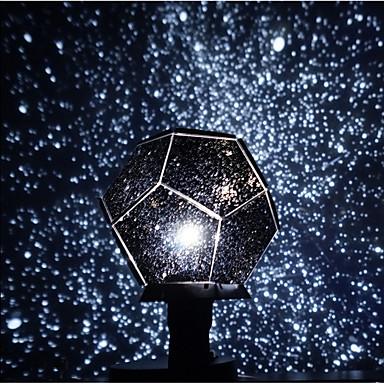 baratos Brinquedos Criativos & Pegadinhas-Galáxia Universo Luminária Noite Estrelada Iluminação de LED Brinquedos Com Luzes Constellation Lamp Star Projector Rotativo Faça Você Mesmo Adulto Infantil para presentes de aniversário e