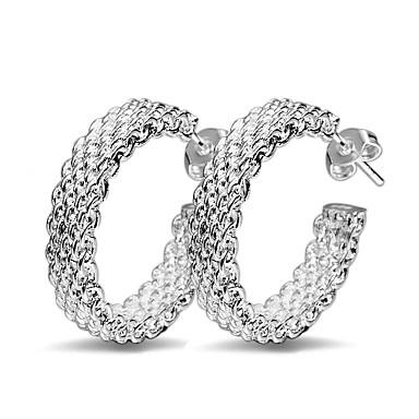 levne Dámské šperky-elegantní dámské náušnice náušnice 925 stříbrné šperky náušnice velikost 2,4 * 2,4cm dárek