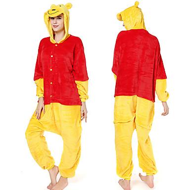design di qualità 30328 518a7 Per adulto Pigiama Kigurumi Orso Fantasia animale Pigiama a ...