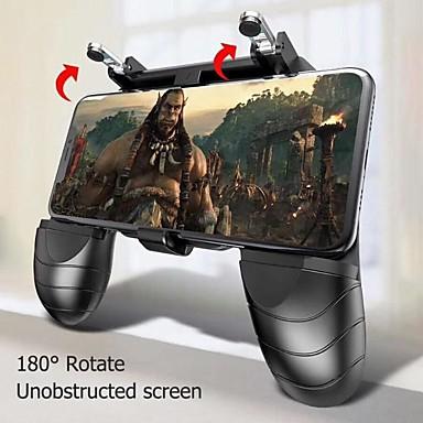 preiswerte Smartphone Spiele Zubehör-W18 Smartphone Handy Gamepad Gaming-Trigger für Pubg Feuerknopf Ziel Schlüssel Shooter Griff Griff Controller Gamepad Joystick