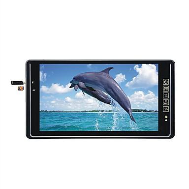 levne Auto Elektronika-9 palcové zpětné zrcátko pro auto monitor s vestavěným bluetooth mp5 fm foto lcd displej usb tf slot 800 * 480 led parkovací obrazovka
