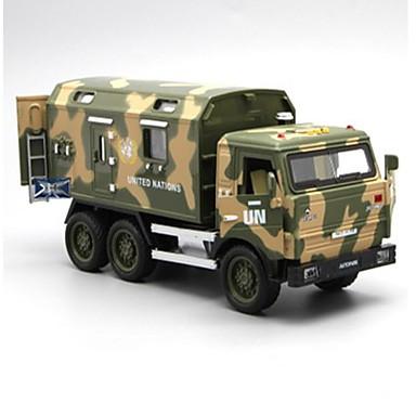 รถทหาร รถบัส สามารถพับเก็บได้ คลาสสิกและถาวร เก๋ไก๋และทันสมัย เด็กผู้ชาย เด็กผู้หญิง Toy ของขวัญ / Metal