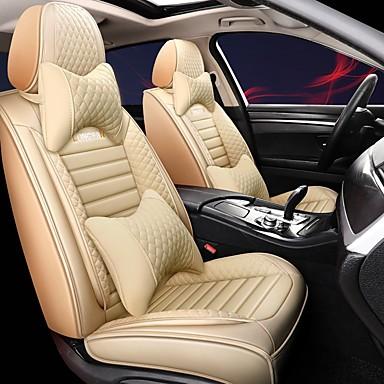 levne Doplňky do interiéru-všude kolem polštář potahu sedadel celoroční potah sedadel 5 let airbag kompatibilní luxusní verze obsahuje 2 opěrky hlavy a 2 bederní bedny