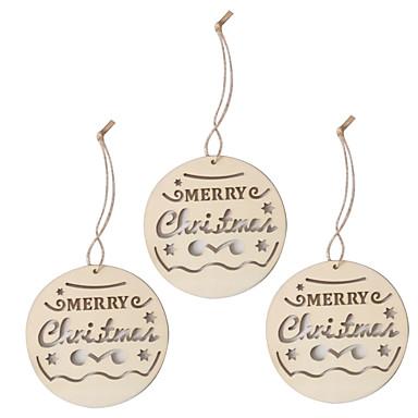 preiswerte Hochzeitsempfang-Verzierungen / 3 Stück Weihnachten
