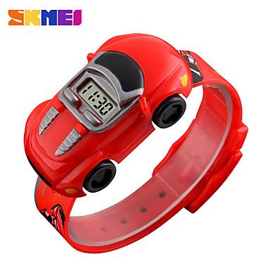 levne Pánské-SKMEI děti Inteligentní hodinky Digitální Moderní styl Sportovní Silikon 30 m Voděodolné Hodinky na běžné nošení Cool Digitální Na běžné nošení Módní - Černá Světle modrá Žlutá