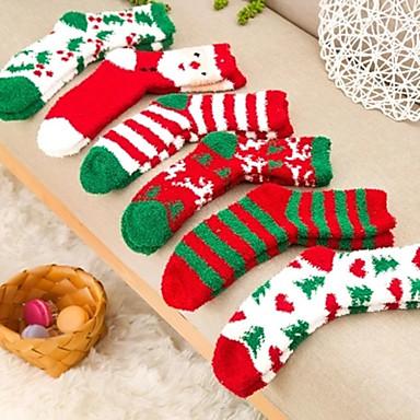 mode och söta jul serien strumpor (slumpmässig färg)