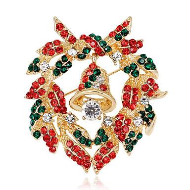 levne Dámské šperky-dámská módní drahokamová slitina vánoční příležitostná / denně - plná barva