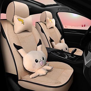 levne Doplňky do interiéru-karikatura polštáře auto zimní polštář polštáře plné okolní teplé potahy autosedaček kompatibilní s airbagy 5 míst karikatura se 2 opěrkami hlavy a 2 bederními