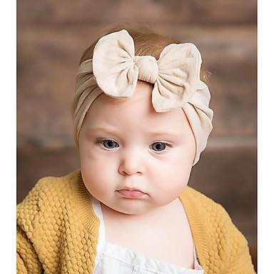 preiswerte Kinder Kopfbedeckungen-damas nette Art Elegant Prinzessin,75g / m2 Polyester gestricktes Stretch Material Solide