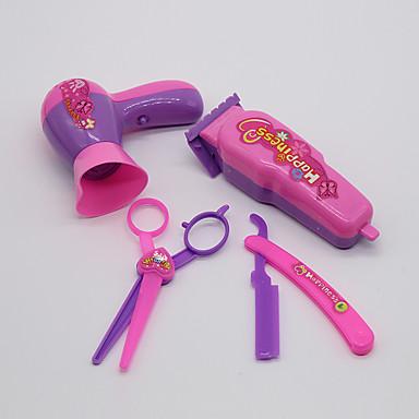 docka tillbehör lekstuga rekvisita utländska rekvisita barbershop frisyr verktyg skönhet verktyg 4 uppsättningar