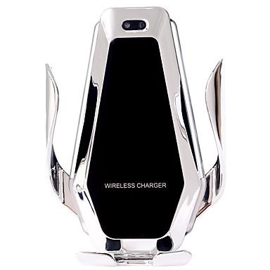 billige Nyheter-superkondensator bil trådløs lader automatisk klemme 15w hurtigladingfeste for iphone xs xr x samsung s10 / 10 s9 / 8 note9