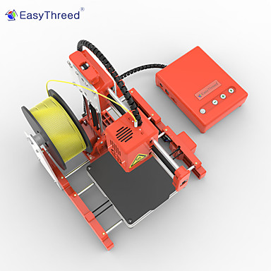 cheap 3D Printers & Supplies-EASYTHREED ET-4000-X1 mini 3D printer 3D Printer 100*100*100mm 0.4 mm Portable / for cultivation / as Children's gift