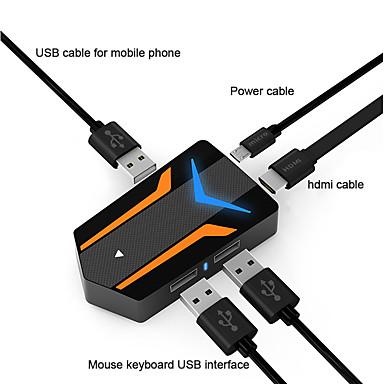 preiswerte Smartphone Spiele Zubehör-neueste full-hd mirscreen neue kabel tc03 typ c zu 4 karat hdmi kabel sofortige projektion verbinden handy mit tv / gps navigation