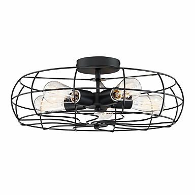 feimiao 5-luz Lanterna Apliques de Tecto Luz Ambiente Acabamentos Pintados Metal Novo Design 110-120V / 220-240V
