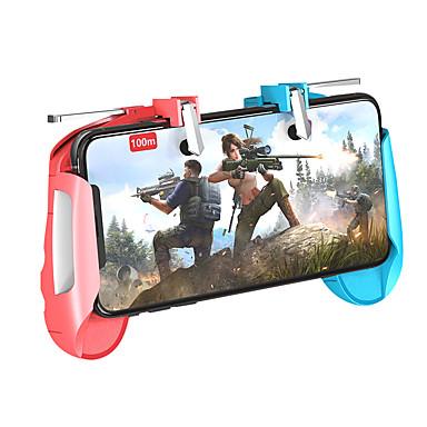 preiswerte Smartphone Spiele Zubehör-K18 Pubg Handy-Spiel-Trigger für Xiaomi iPhone Samsung Android iOS-Handy Gamepad Gaming Controller kostenlos Feuer Controller Joystick