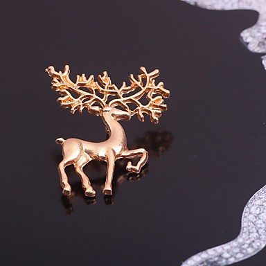 levne Dámské šperky-dámská módní slitinová vánoční dovolená - plná barva