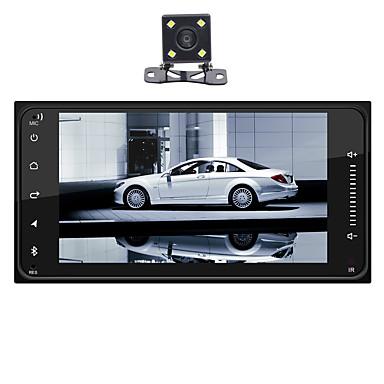 levne Auto Elektronika-swm 4led camera 7 inch 1 din android 8.1 car mp5 player car mulitimedia player dotykový displej / gps / vestavěná podpora Bluetooth rca / hdmi / fm2 mpeg / mpg / wmv mp3 / wma / wav jpeg pro toyota