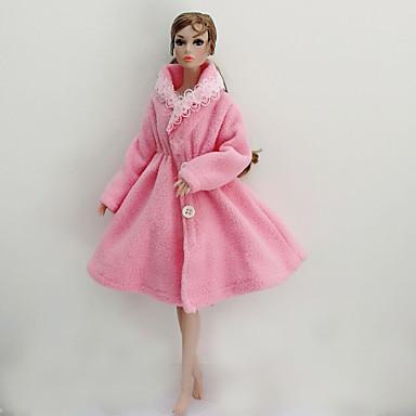 Dollklänning Fest / afton För Barbie Polyester Polär Ull Topp För Flicka Dockleksak