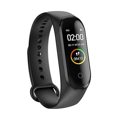 levne Pánské-Inteligentní hodinky Digitální Moderní styl Sportovní PU kůže 30 m Voděodolné Monitor pulsu Bluetooth Digitální Na běžné nošení Outdoor - Černá Červená Modrá