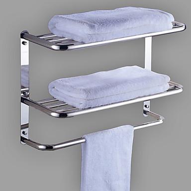 πετσέτα μπαρ νέο σχεδιασμό μοντέρνο ανοξείδωτο ατσάλι / σίδερο 1pc ενιαία / 1-πετσέτα μπαρ τοίχο τοποθετημένο