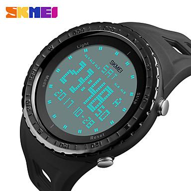 levne Pánské-SKMEI Inteligentní hodinky Digitální Moderní styl Sportovní Silikon 30 m Voděodolné Hodinky na běžné nošení Cool Digitální Na běžné nošení Módní - Černá Zelená Modrá