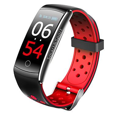 levne Dámské-imosi q8s inteligentní kapesní monitor srdeční frekvence vodotěsný inteligentní náramek fitness tracker krevní tlak chytré hodinky android ios