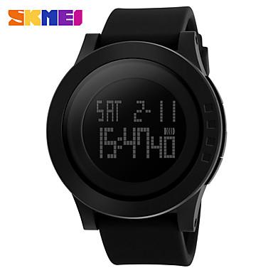 levne Pánské-SKMEI Inteligentní hodinky Digitální Moderní styl Sportovní Silikon 30 m Voděodolné Hodinky na běžné nošení Cool Digitální Na běžné nošení Módní - Černá Černá / Modrá Černá / zelená